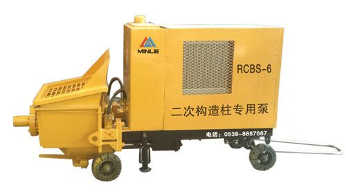 RCBS-6二次构造柱专用泵